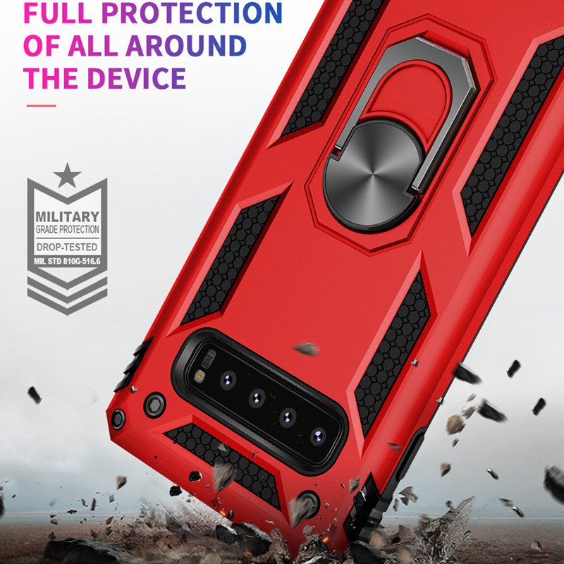 Magnet Metal Armor Shockproof Phone <font><b>Case</b></font> For <font><b>SAMSUNG</b></font> S10 Plus S10 5G S9+ S8 Note 9 8 A10e 20e 30 40 50 60 <font><b>70</b></font> 80 90 M10 20 30 40 image