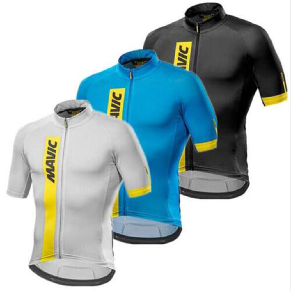 Mavic Cycling Jersey 2018 Cycling Clothing Racing Sport Bike Jersey Top Cycling Wear Short Sleeves Maillot ropa Ciclismo