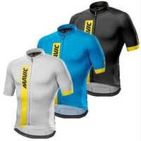 Mavic Ciclismo Maglia 2018 Ciclismo Abbigliamento Da Corsa Della Bici di Sport Top in Jersey Usura di Riciclaggio Maniche Corte Maillot ropa Ciclismo