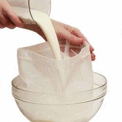 Food Grade wielokrotnego użytku żywności owoców worek filtracyjny nakrętka worek na mleko wycisnąć sok siatki filtr z siatki sito surowa zupa filtr z siatki worek filtracyjny 30x30cm