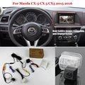 Coche de Visión Trasera Inversa Cámara Ajusta Para Mazda CX-5 CX 5 CX5 2015 2016-RCA y Pantalla Original Compatible