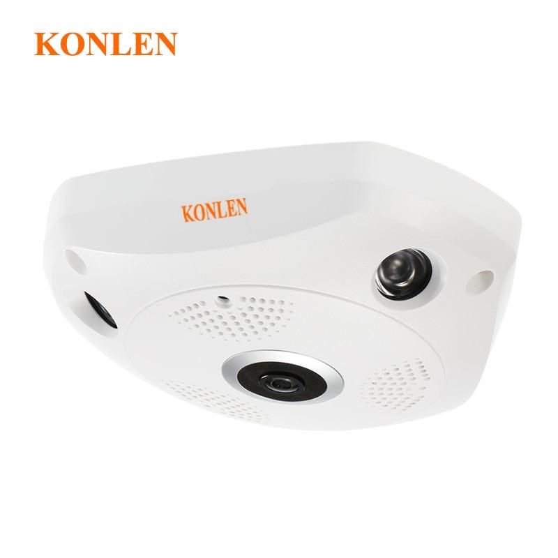 360 Degree Camera IP wi fi 3MP Wireless Fisheye Camera Flexible HD Panoramic CCTV Surveillance Micro