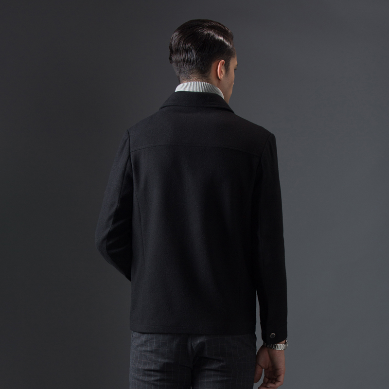 Abrigo de otoño e invierno de gran venta para hombre, chaqueta de negocios informal, chaqueta cómoda, abrigo de marca para hombre-in Chaquetas from Ropa de hombre    3