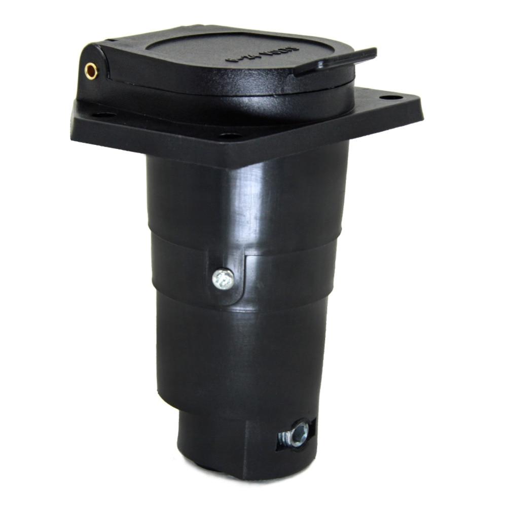 тироль 7 способ прицепы пластик разъем 7 способ РВ лезвие прицепы адаптер разъем 12 в фаркоп буксировка-конец автомобиля бесплатная доставка