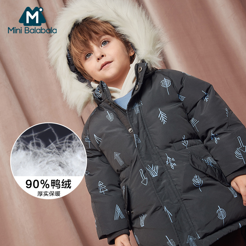 Winter Thicken Windproof Warm Kids Coat Waterproof Children Outerwear Kids Clothes Baby Boys Jackets For 4