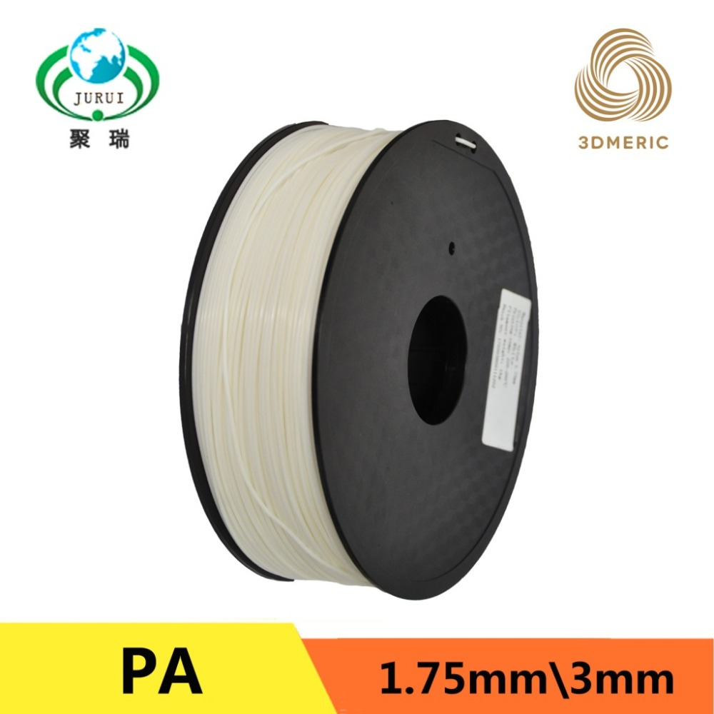 Free Shipping Nylon 3D Printer Filament 1.75mm 1kg Plastic Welding Rods Apply to Makerbot RepRap sergio tacchini active water