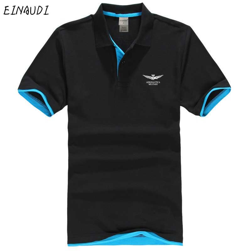 2019Air force one printing short sleeve   polo   shirts men cool men's   polo   shirt brand men's   polo   unlined upper garment business st
