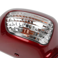 Pair Rear View Mirror W/Turn Signal for Honda Goldwing GL1800 2001-2012 03 04 05 4