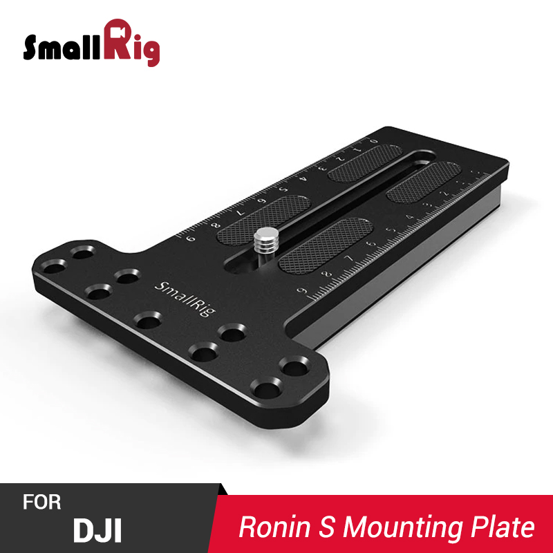 SmallRig Camera Plate Counterweight Mounting Plate (Manfrotto 501PL) For DJI Ronin S Gimbal Comes With 1/4 Thread Holes 2308