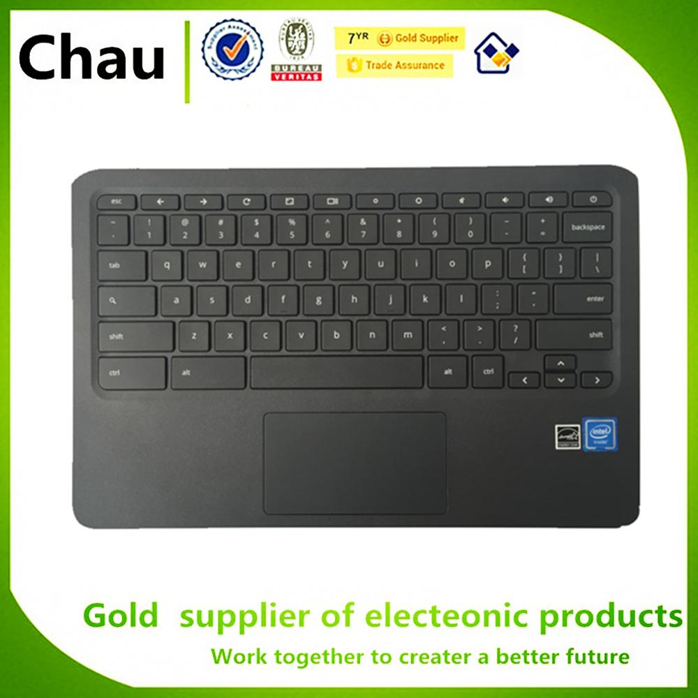 HP Chromebook 11 G6 EE Palmrest w// Keyboard /& Touchpad