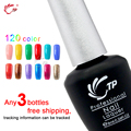 TP Brand 3pcs/lot 10seconds Speed Cure Nail Gel Polish 8ml Long Lasting Soak-Off UV Gel Varnishes Nails Beauty Manicure Tools
