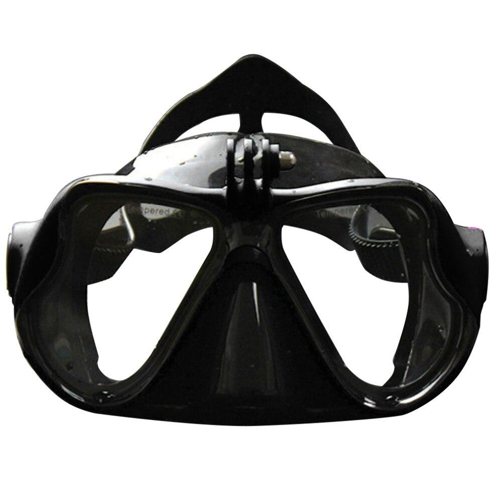 Professionelle Unterwasserkamera Tauchen Maske Scuba Schnorchel Schwimmbrille für GoPro Xiaomi SJCAM Sport Kamera Heißer Verkauf