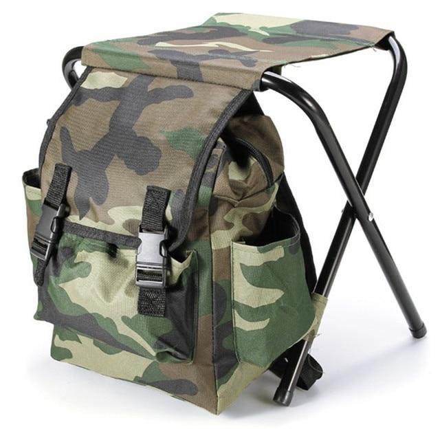 Складной стул-рюкзак со спинкой тактический рюкзак mil tec