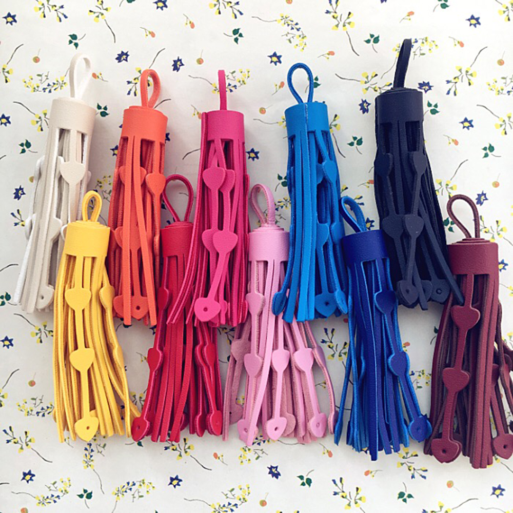 5PCS/lot 75mm Tassel Leather suede tassels trim Phone tassels for DIY Craft pendant jewelry Sewing Garment/Bags accessories