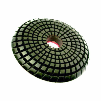 цена на 2 pieces/lot Diamond convex Polishing Pad for marble granite terrazzo stone concrete 100mm 4 inch