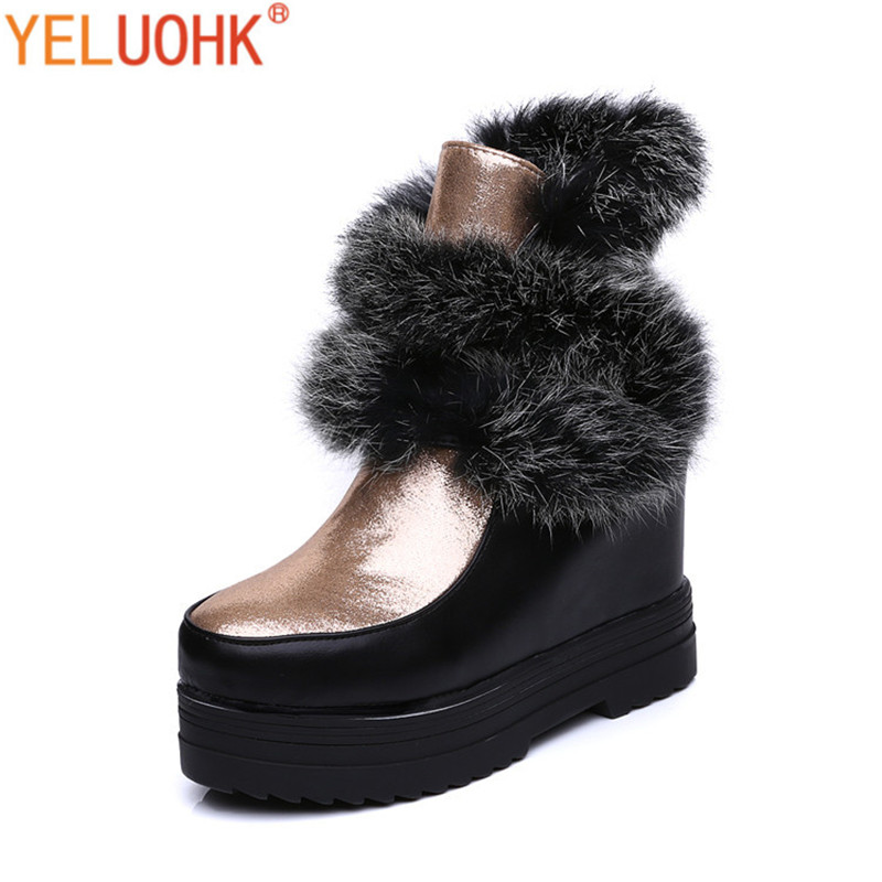 Snow Boots Female Winter Boots Women Platform Winter Women Boots High Quality only true love high quality women boots winter snow boots