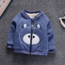 hot deal buy boys girls coats and jackets kids coat 2018 autumn winter jacket thick velvet warm outerwear coats toddler baby clothing 1-6t
