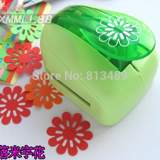 free ship sun flower card cutter paper craft punch flowers printing paper shaper punch perfurador de