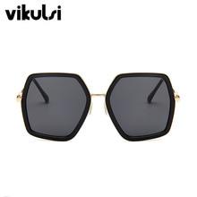 Square Luxury Sun Glasses Brand Designer Ladies Oversized Crystal Sunglasses Women Big Frame Mirror Sun Glasses For Female UV400