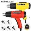 NEWACALOX 1500W Digital Heat Gun 220V EU Electric Thermoregulator LCD Display Hot Air Gun Shrink Wrapping