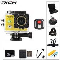 RICH 4K Wifi Action Cameras 170D Wide Lens HD 1080P 30M Underwater Camera Go Waterproof Pro Sport DV Bike Helmet action Cam
