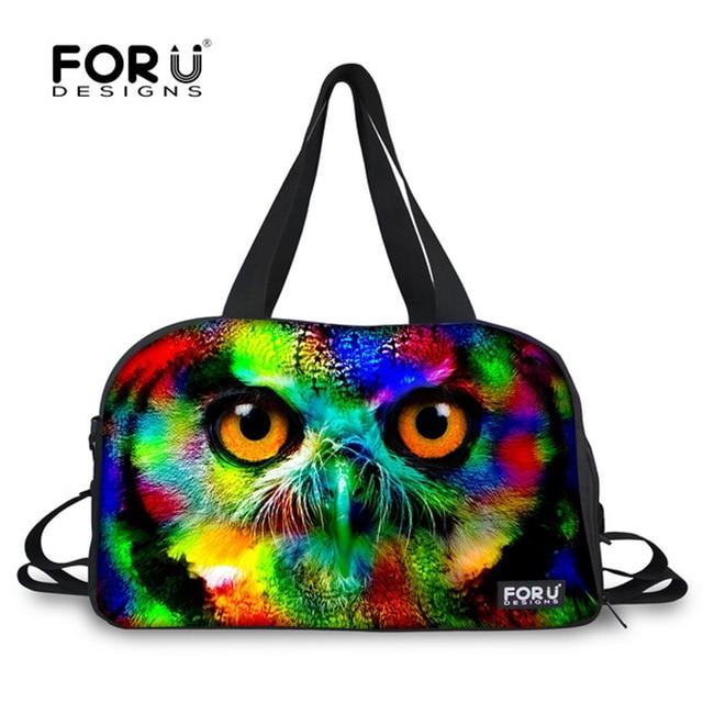 b4c6b326fc20 FORUDESIGNS Animal Designer Men Travel Bags Boys Soft Handle Baggage Bag  Male luggage Bag Teenager Weekend