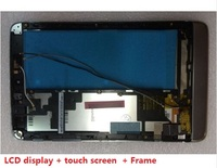 LCD Display Touch Screen Digitizer Replacement With Frame For Lenovo Miix 2 8 Tablet PC Free