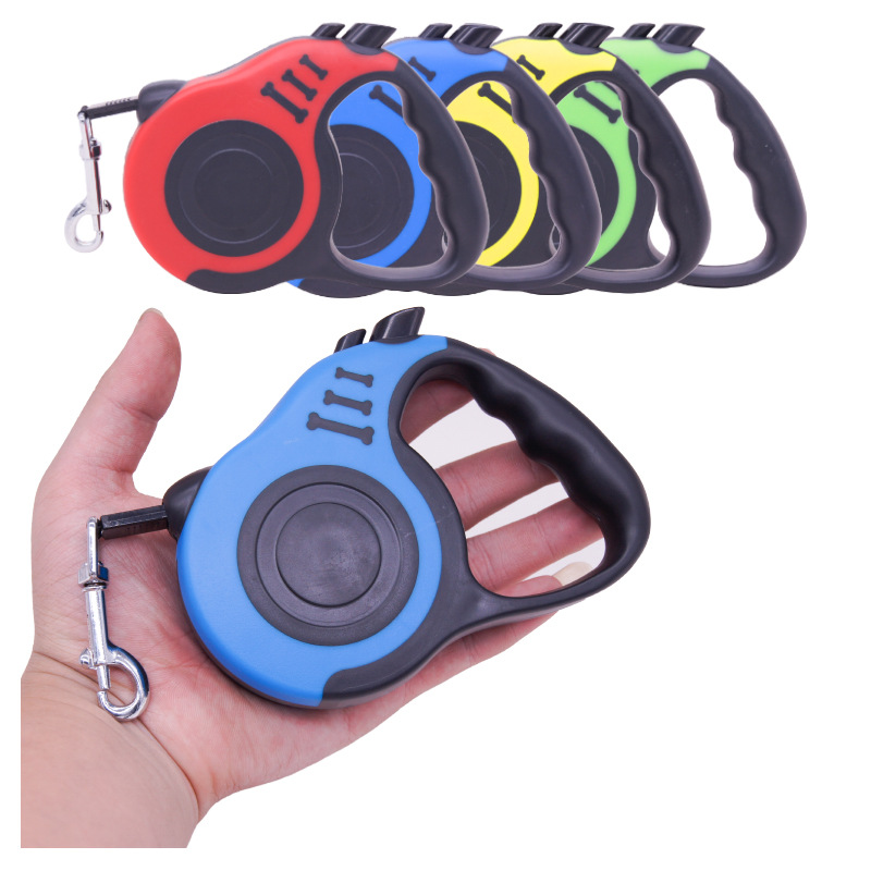 Retractable Dog Leash Automatic Dog Puppy Leash Rope Pet Running Walking Extending Lead For Small Medium Dogs Pet Products-in Leashes from Home & Garden