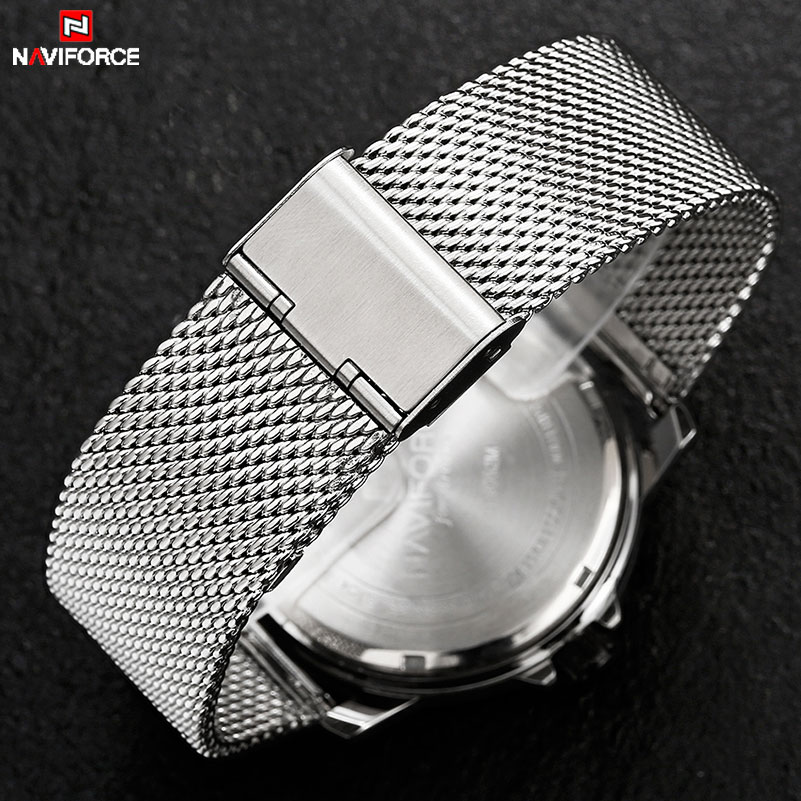 Men Watches NAVIFORCE Stainless