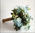 2016 свадебный букет! свадебная фотография реквизит холдинг букет Корейский сад невеста с цветами в руках моделирования коллективных weddin