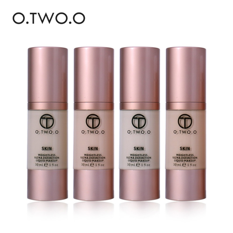 Audacious O.two.o Moisturizing Matte Full Coverage Foundation Liquid Nutritious Concealer Foundation Sufficient Supply Body