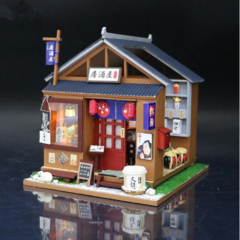Asian style doll house