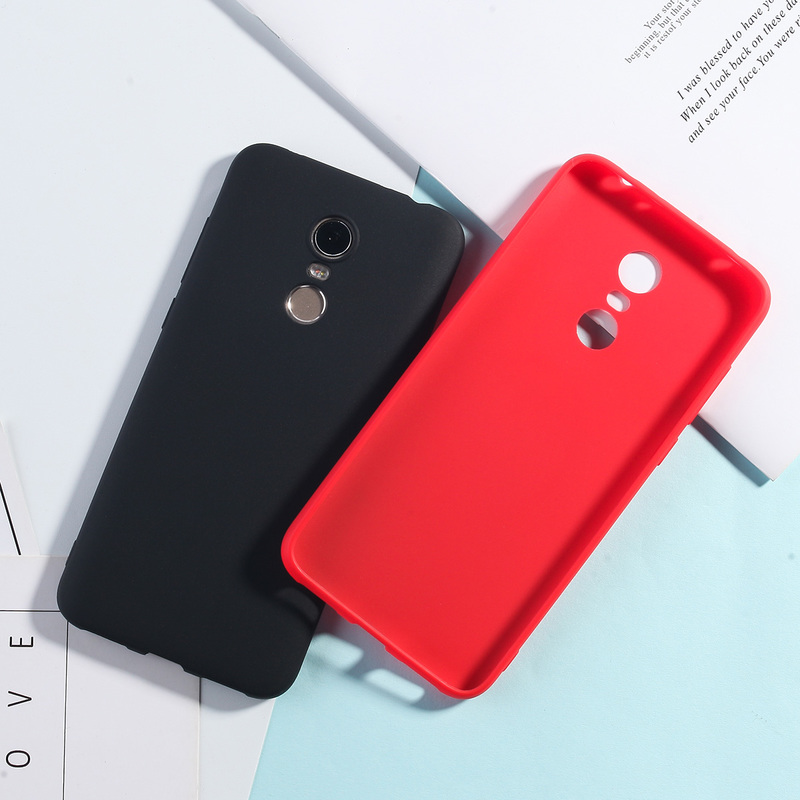 Image 4 - Silicone Case For Xiaomi Redmi 5 Plus Candy Color TPU Cases For Redmi Note 7 6 5 Pro 4X 5A Redmi 7 6 Pro 4A 4X 5A 6A Matte Cover-in Fitted Cases from Cellphones & Telecommunications