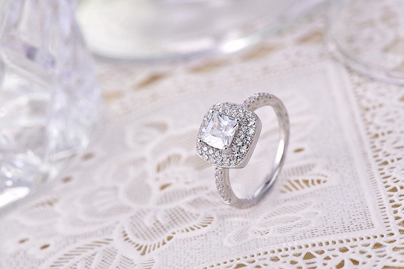 for silver finger ring,for crystal silver ring,for gold plated silver ringDL85020A (7)