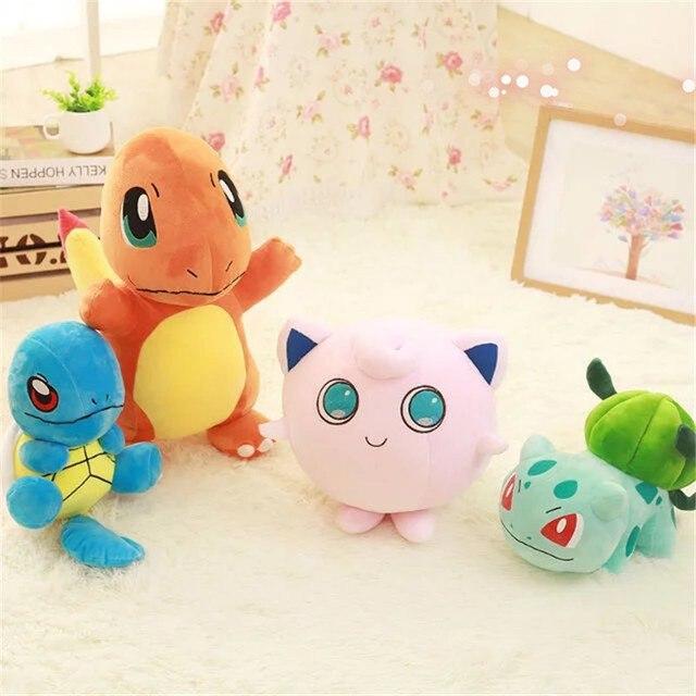 Плюшевые игрушки покемоны 4 вида 3
