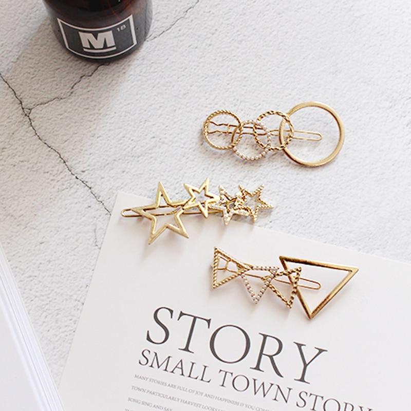 Бесплатная доставка оптовая продажа ювелирных изделий подарок простой металлические текстуры выдолбленные треугольник пять звезд круг же...