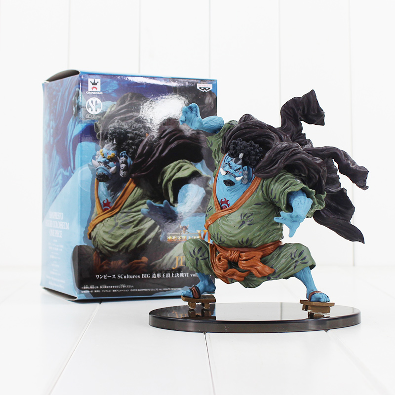 17cm One Piece jinbe PVC Figure toy with box