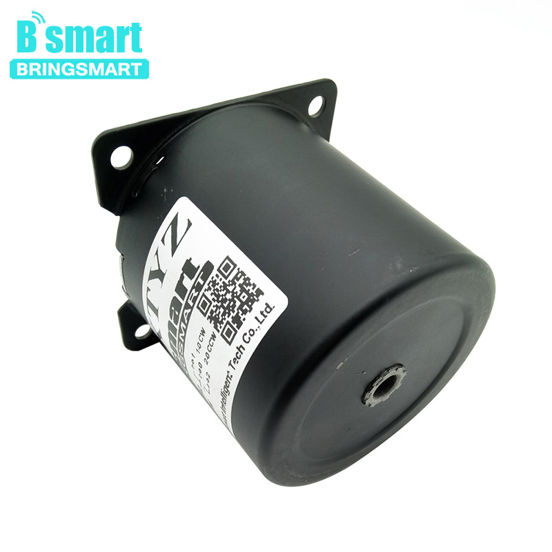 Bringsmart 220V permanent magnet Motor High Low Speed 2.5-110rpm Low Noise Electric Motor For Home Appliance DIY motor 70KTYZBringsmart 220V permanent magnet Motor High Low Speed 2.5-110rpm Low Noise Electric Motor For Home Appliance DIY motor 70KTYZ