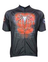 Örümcek SuperMan Bisiklet Jersey Bisiklet Kısa Kollu Ciclismo Maillot QuickDry Nefes Giyim Ücretsiz Nakliye Giymek