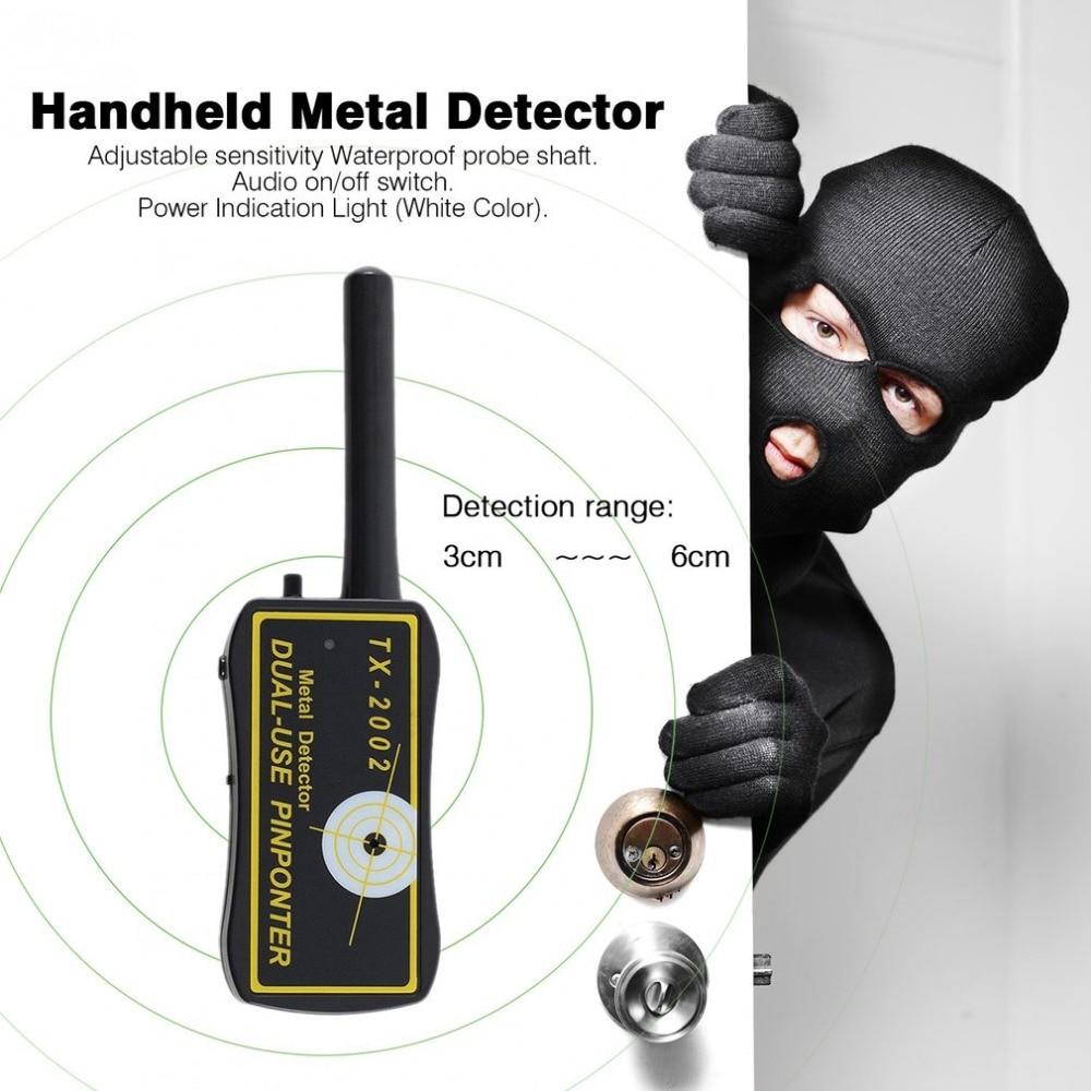 High Sensitivity Handheld Metal Detector Dual-use Metal Pinpointer Detector Finder Waterproof Probe Shaft Sheath big factory wholesale handheld metal detector tx 2002 dual use metal pinpointer tx2002
