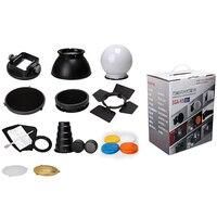 Flash adaptör Kit aksesuar için K9/K-9 evrensel montaj CA-SGU Speedlite SGA-K9 için SB910 900 430EX Yongnuo YN560III 568