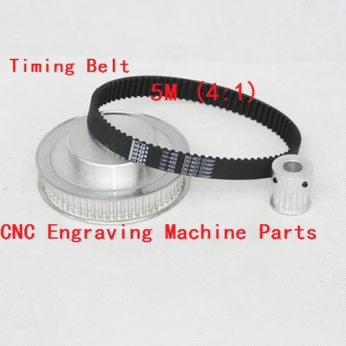 Timing Belt Pulleys /Synchronous belt deceleration suite 5M (4:1) CNC Engraving Machine Parts lupulley htd timing belt pulley gear 3m type deceleration suite 3m 1 2 20t 40t cnc engraving machine parts synchronous