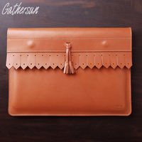 Original Design Handmade High Quality Head Layer Leather Women S Had Bag Apple Notebook 13 3