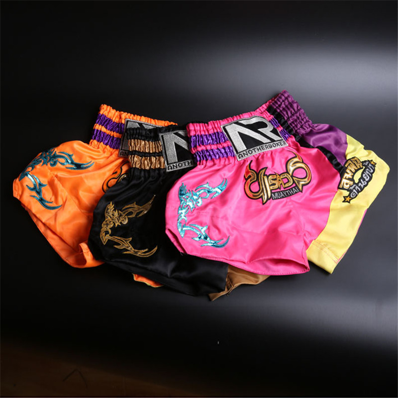 MMA Training Short Men Thai Boxing Shorts Muay Thai Boxeo Shorts Mma Fight Trunks Sports Trunks sport shorts for kids (XS-XXL) mma muay boxe pantalon boxeo m xxxl mma 43487516144