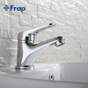 Image 2 - FRAP mini Stylish elegant Bathroom Basin Faucet Brass Vessel Sink Water Tap Mixer Chrome Finish  F1013  F1036