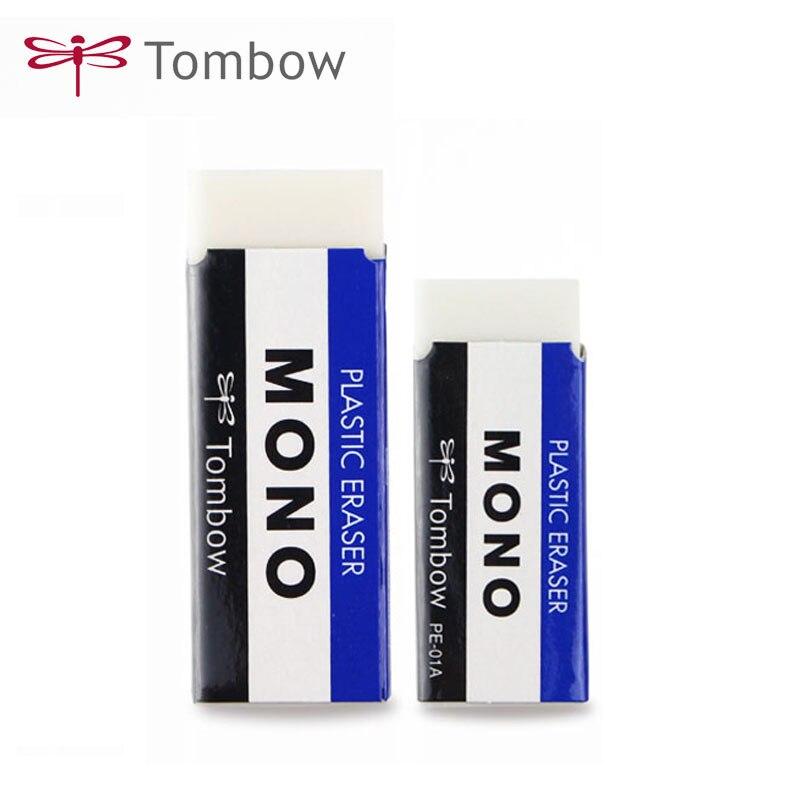 Professional Tombow MONO Plastic Eraser Drawing Eraser PE-01A/03A Rubber Borrachas Escolar Material Escolar Borrachas