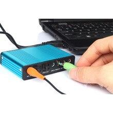Sound Card USB External 6 Channel 5.1 SPDIF Optical Sound Card Audio For Netbook Laptop PC JL.19