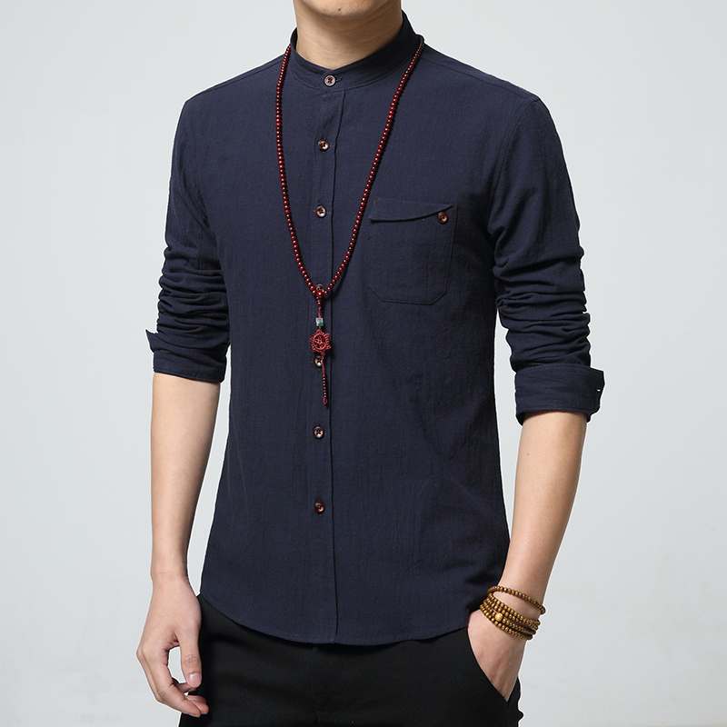 Мужская рубашка 5XL 2017 Camisa Hombre