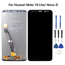 For Huawei Mate 10 Lite/Novia 2i Touch Screen Display Assembly Replacement For Huawei RNE-L01 RNE-L02 RNE-L03 RNE-L21 RNE-L22 смартфон huawei nova 2i prestige gold rne l21