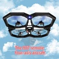 Yeni uzaktan kumanda quadcopter drone ile 6 eksen gyro 2.4G rc drone hd kamera yanıp sönen LED ile Büyük UFO Drone vs v323 iyi hediyeler